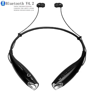 IMMUTABLE HBS-730 Wireless Bluetooth Headset Sweatproof IMT412 In-Ear Bluetooth Headset ( Black )