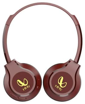 Infinity Tranz 700 On-Ear Bluetooth Headset ( Red )