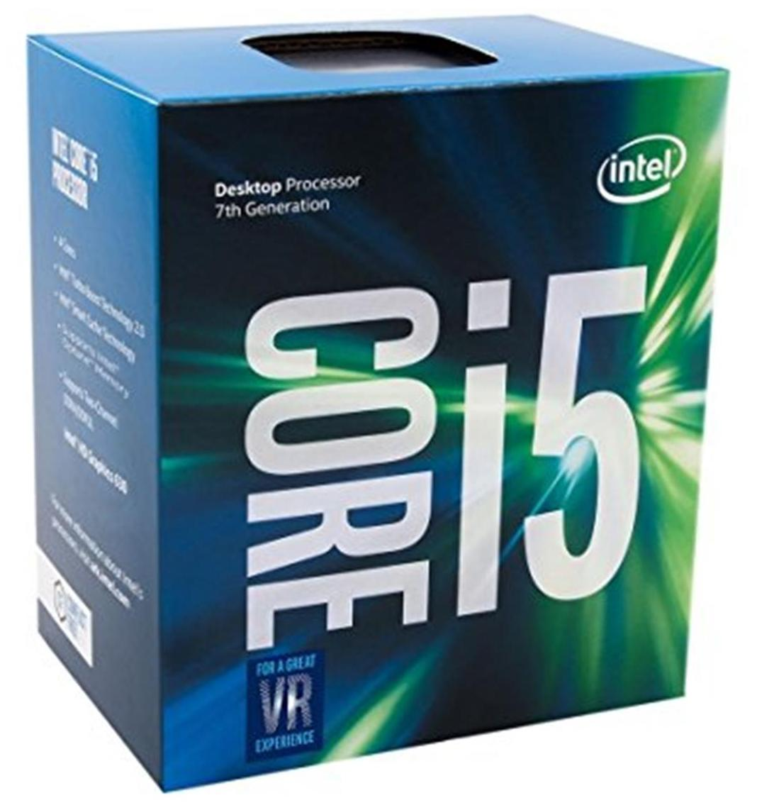 Intel Core I5 7600 7th Gen processor LGA 1151 socket 3.5Ghz