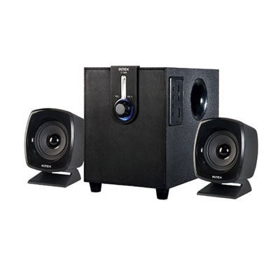 Intex IT-1666 2.1 Multimedia Speaker (Black)
