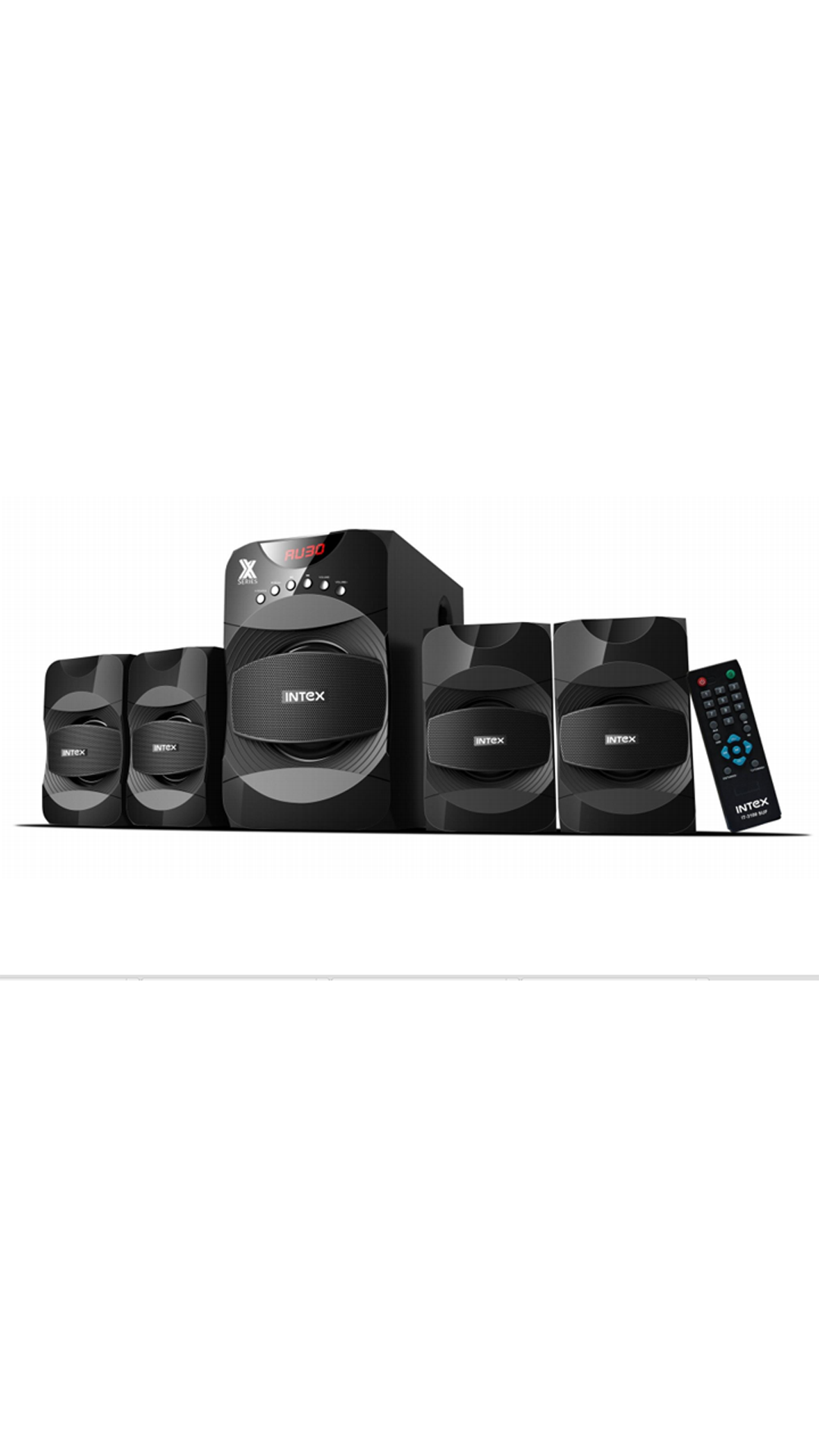 Intex IT-3100 SUF 4.1 Channel Home Audio System