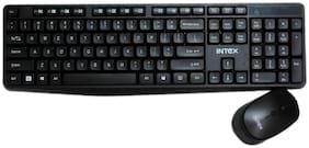 INTEX It-wlkbm01 Wireless Keyboard & Mouse Set ( Black )