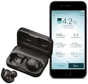Jabra Elite Sport True Wireless Waterproof Fitness & Running Earbuds with Heart Rate and Activity Tracker (Black)