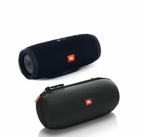 JBL Charge 3 - Black with Authentic JBL Carrying Case