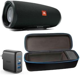 JBL JBLCHARGE4BLK-CASE-A2023111 Bluetooth Portable Speaker ( Black )