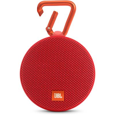 JBL CLIP 2 Portable Bluetooth Mobile/Tablet Speaker (Red)