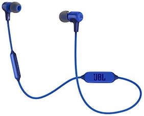 JBL E45BT In-Ear Wired Headphone ( Blue )