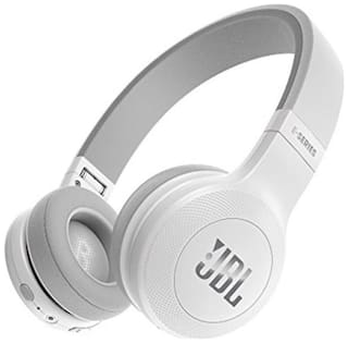 JBL JBLE45BTWHT Over-ear Bluetooth Headsets ( White )