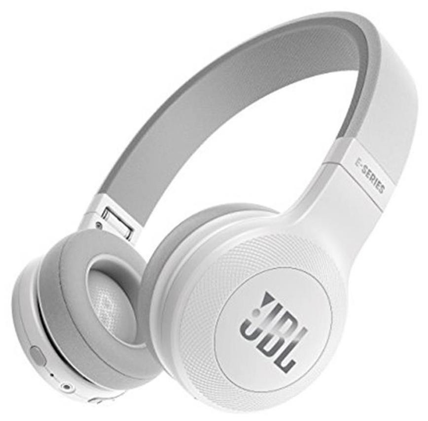 JBL E45BT Wireless Bluetooth Headphone (White)