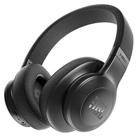 JBL E55BT Wireless Over-Ear Headphones (Black)