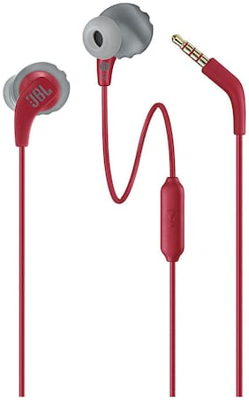 JBL Jblendurrunred In-ear Wired Headphone ( Red )