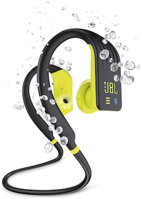 JBL ENDURANCE DIVE WATERPROOF WIRELESS In-ear Bluetooth Headsets ( Yellow & Black )