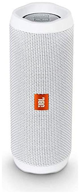 JBL JBL FLIP 4 Bluetooth Portable Speaker ( White )