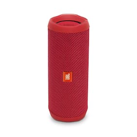 JBL Flip 4 Bluetooth Speaker (Red)