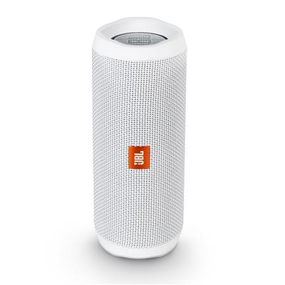 JBL Flip 4 Bluetooth Speaker (white)