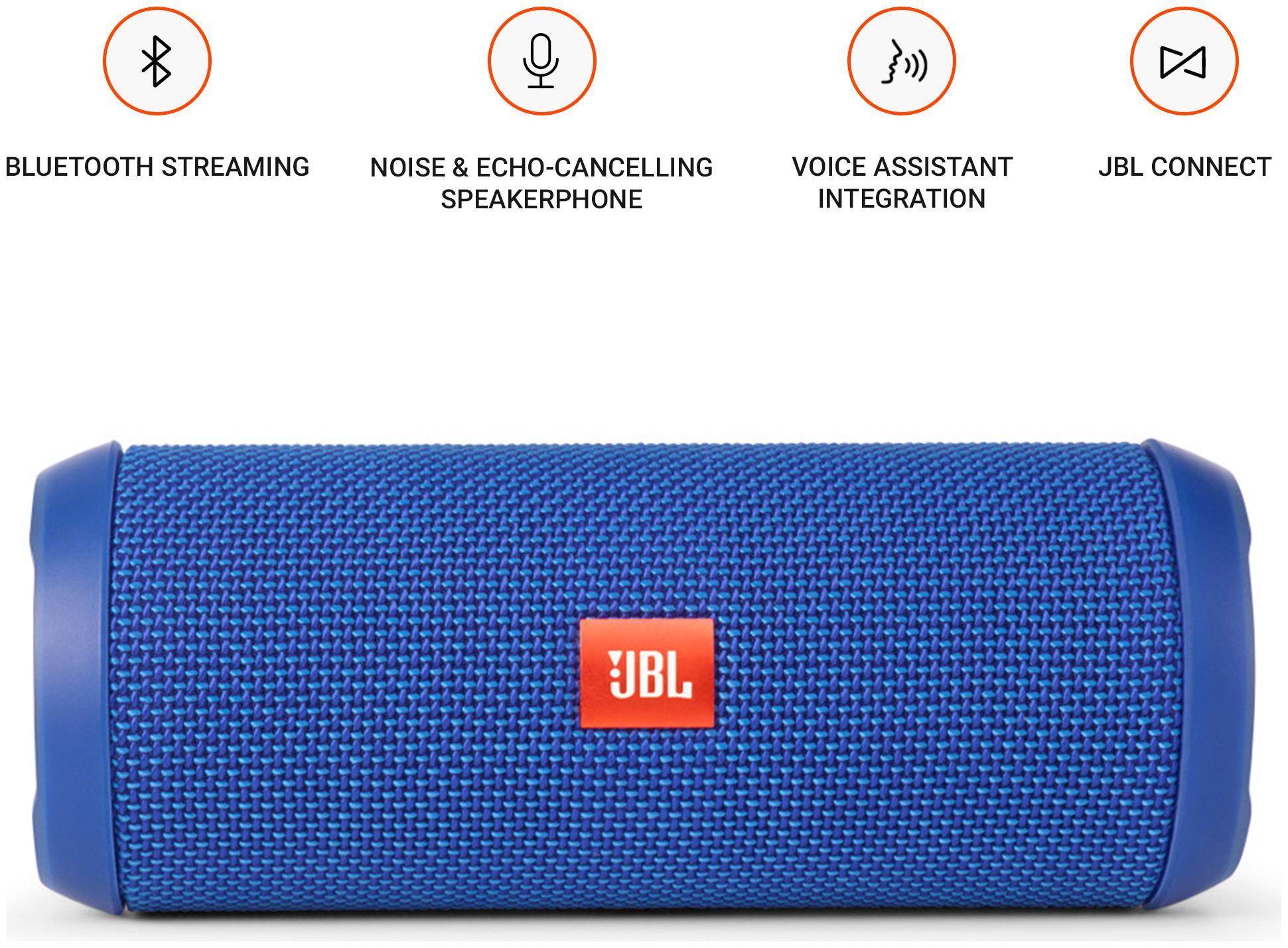 JBL FLIP3 Portable Speaker ( Blue )