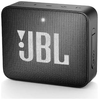 JBL Go 2 Bluetooth Speaker (Black)