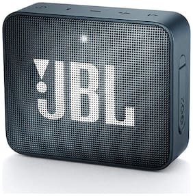 JBL Go 2 Bluetooth Speaker (Navy Blue)