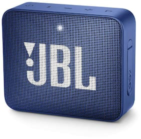 JBL Go 2 Bluetooth Speaker (Blue)