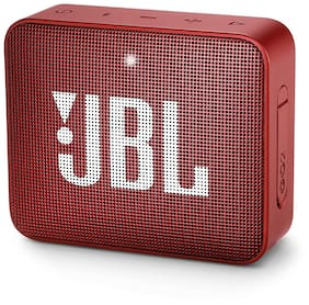 JBL Go 2 Bluetooth Speaker (Red)