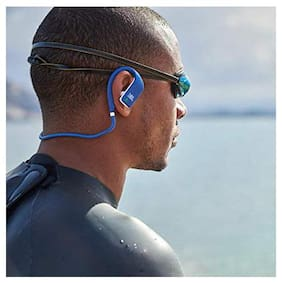 JBL Endurance Dive Waterproof Wireless in-Ear Sport Headphones with Built-in Mp3 Player (Blue)