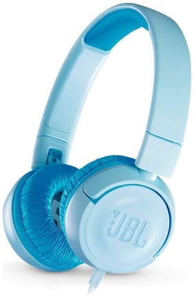 JBL JR300 Kids On Ear Headphones (Blue)