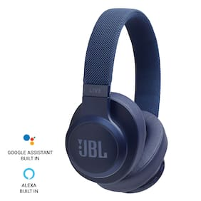 JBL Live 500bt Over-ear Bluetooth Headsets ( Blue )