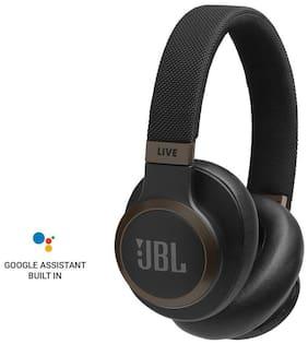 JBL Live 650BTNC Over-Ear Bluetooth Headset ( Black )