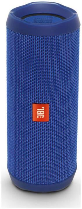 JBL FLIP 4 Portable Bluetooth Speaker ( Blue )