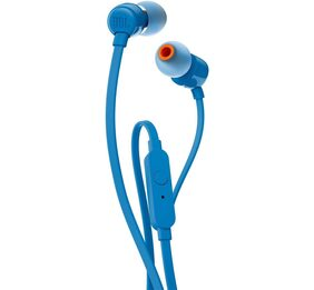 JBL T110 In Ear Headphones (Blue)