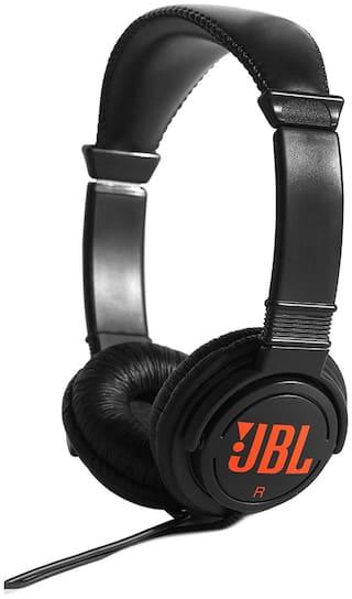 JBL On-Ear Wired Headphone ( Black )