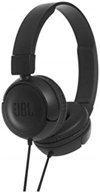 JBL T450 On-Ear Wired Headphone ( Black )