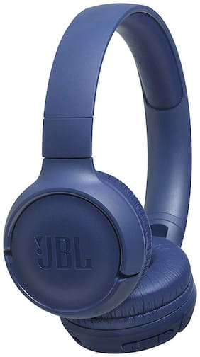 JBL T500BT On-Ear Bluetooth Headset ( Blue )