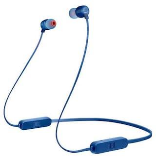 JBL Tune 165BT In-Ear Bluetooth Headset ( Blue )