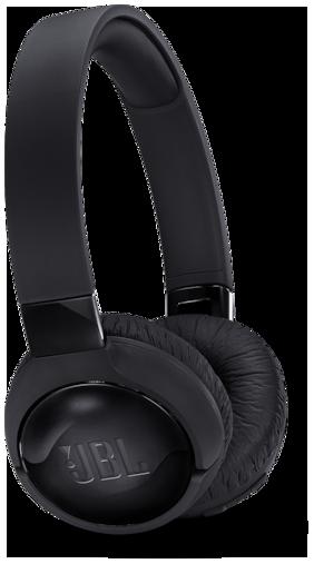 JBL Tune 600 BTNC On-Ear Wireless Bluetooth Noise Canceling Headphones (Black)