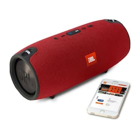 JBL Xtreme Portable Wireless Bluetooth Speaker (Red) Red