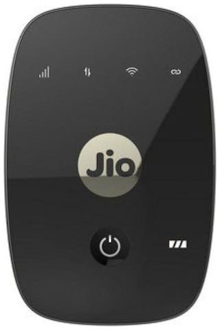 Reliance JIO jiofi-4 150 mbps WiFi Router (Black)