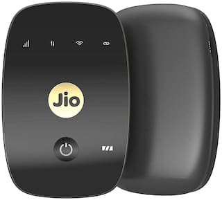 Jio Wi-Fi M2 Wireless Data Card (Black)
