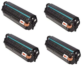 JK TONER 303 for Canon 303/703/103 Toner Cartridge Compatible Canon LBP 2900, LBP 2900B,LBP 3000 -Pack of 4 Units