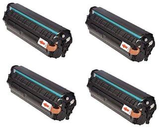 JK TONER 303 for Canon 303/703/103 Toner Cartridge Compatible Canon LBP 2900, LBP 2900B,LBP 3000 -Pack of 4 Units