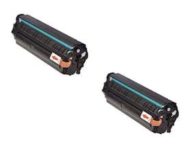 JK TONER 303 for Canon 303/703/103 Toner Cartridge Compatible Canon LBP 2900, LBP 2900B,LBP 3000 -Pack of 2 Units