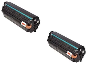 JK TONER 303 for Canon 303/703/103 Toner Cartridge Compatible Canon LBP 2900, LBP 2900B,LBP 3000 -Pack of 2 Units