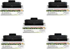JK TONERS 1043 Compatible Toner Cartridge for Samsung ML-1600/1660/1665/1666/1670/1675/1676/1676P/1860/1865/1865W/1866/1866W, Scx-3200/3201/3201G/3205/3205W/3206W/3218 (MLT-D1043S) (Pack of 5)