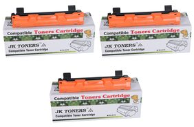 JK TONERS 1020/ TN-1020 Black Toner Cartridge Compatible with Brothr HL-1111/1201/ 1211W/ DCP-1511/1514/ 1601/ 1616NW/ MFC-1811/1814/ 1911NW (Pack of 3)