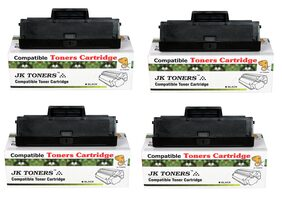 JK TONERS 1043 Compatible Toner Cartridge for Samsung ML-1600/1660/1665/1666/1670/1675/1676/1676P/1860/1865/1865W/1866/1866W, Scx-3200/3201/3201G/3205/3205W/3206W/3218 (MLT-D1043S) (Pack of 4)