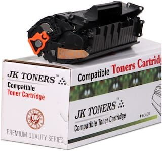 JK TONERS 12A X / Q2612A X Toner Cartridge (upto 4000 pages print) Compatible with 12A / Q2612A Hp 1010 M1005 Mfp Series(PACK 1)