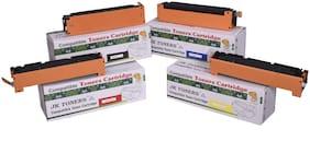 JK Toners 125A CF 210A / CF 211A / CF 212A / CF 213A Cartridge Compatible for CLJ CP1215 CP 1515n 1518 CM1312