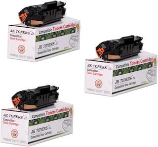 JK Toners 12A Black Toner Cartridge  Compatible for HP LaserJet - 1010  1012  1015  1018  1020  1022  1022n  3020  3030  3050  3052  3055  M1005  M1319f Single Color Ink Toner