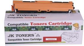 JK TONERS 126A / CE310A CE311A CE312A CE313A Toner Cartridge Compatible With HP LaserJet Pro CP1025nw MFP CE312 A / 126 A (1 UNIT Magenta )