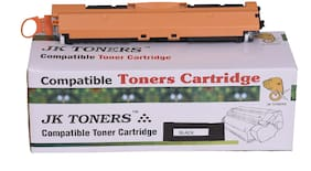 JK TONERS 130A for CF350A CF351A CF352A CF353A Toner Cartridge Compatible for HP Color Laserjet Pro MFP M176,M176FN,M177,M177FW 130 A (1 Unit Black)